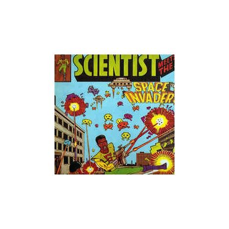 Scientist meets the space invaders (LP)