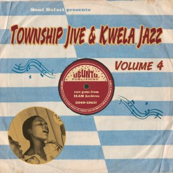 Township Jive & Kwela Jazz Vol.4 (LP)