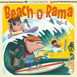 El Vidocq Presents : Beach-O-Rama Vol.2 (LP)