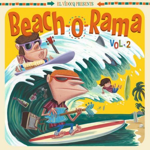 El Vidocq Presents : Beach-O-Rama Vol.2 (LP)