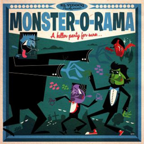 El Vidocq Presents : Monster-O-Rama (LP+CD)
