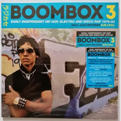 Boombox 3 : Early Independent Hip Hop, Electro Disco 1979-1983 (3LP)