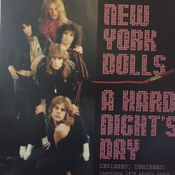 A Hard Night's Day - Unsigned ! Unhinged ! (2LP) coloured