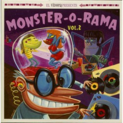 El Vidocq Presents : Monster-O-Rama Vol.2 (LP+CD)