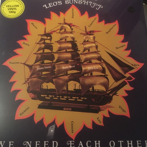 We Need Each Other (LP) Jaune