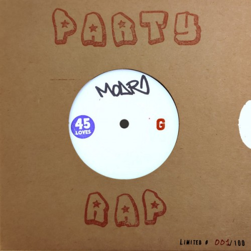 Party Rap - G / GG (45 tours)