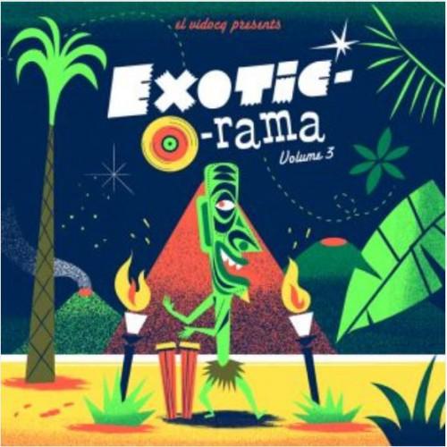 El Vidocq Presents : Exoti-O-Rama (LP+CD)