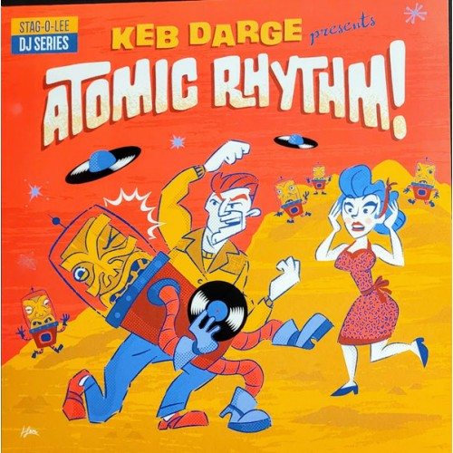 Keb Darge : Presents Atomic Rhythm!! (2LP)