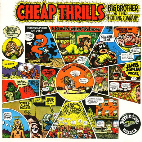 Feat. Janis Joplin - Cheap Thrills (LP)