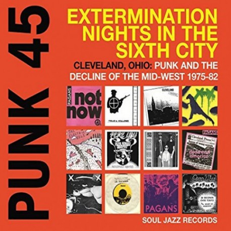 Punk 45 Vol.5 : Cleveland, Ohio (2LP)