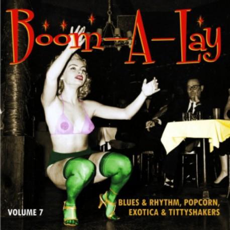 Boom-A-Lay ! Exotic Blues & Rhythm Vol.7 (LP 10 Pouces)