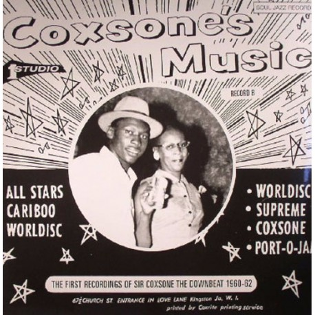 Coxsone's Music 1960-62 Record B (2LP)