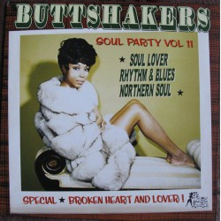 Buttshakers ! soul party vol.11 (LP)